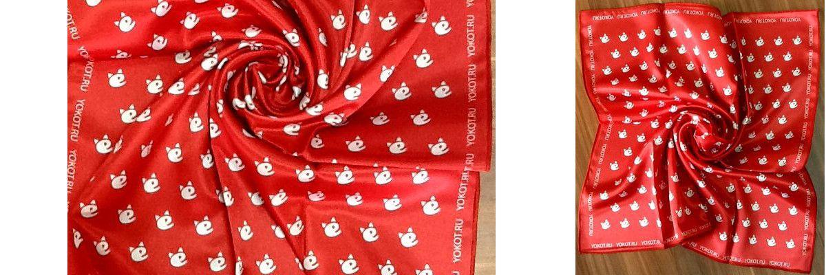 Сувенирный промо-платок
