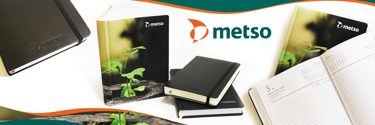Ежедневники 2015 для METSO