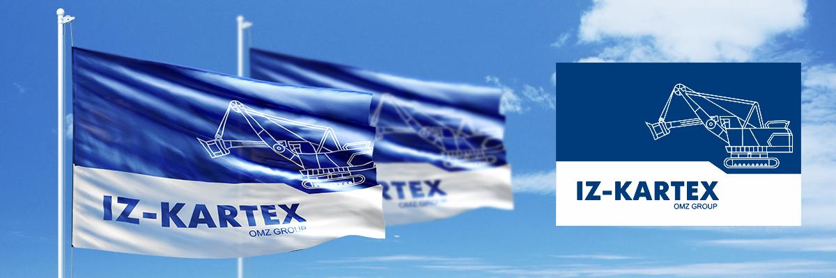 Фирменный флаг IZ-KARTEX