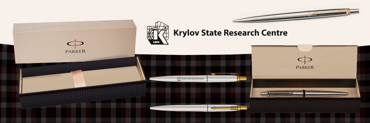 Металлическая ручка Parker с логотипом