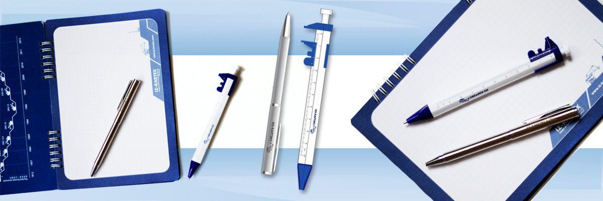 Сувенирные ручки с логотипом компании
