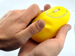 Сувенирная компьютерная мышь антистресс