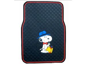 """Сувенирный коврик для автомобиля """"Snoopy"""""""