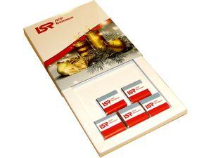Новогодний корпоративный подарочный набор шоколада