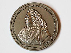 Памятная медаль в честь экспедиции Ф.А.Головина