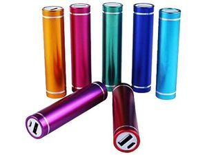 Внешний аккумулятор Power Bank - цвет на выбор