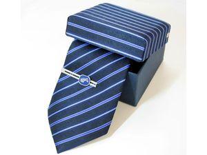 Фирменный галстук в стильной подарочной упаковке